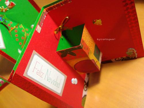 Tarjetas para navidad 3 estilos pop up 3d y sencillo - Como hacer tarjetas de navidad ...
