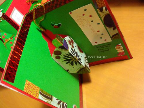 Blog como hacer tarjetas navidad 3 craftingeek - Como realizar tarjetas navidenas ...
