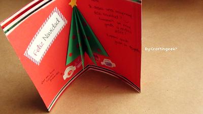 tarjetas navidad arbol 3d - Tarjeta De Navidad En 3d
