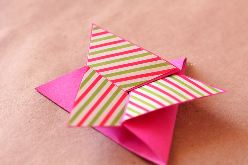Blog Manualidad Tarjeta Estrella Craftingeek
