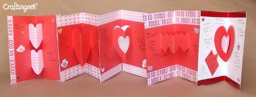 Como Hacer Tarjetas Pop Up Para San Valentin