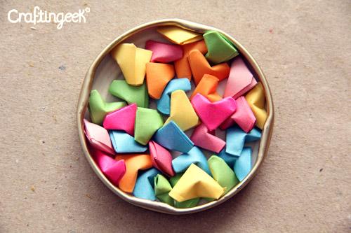 corazoncitos de papel