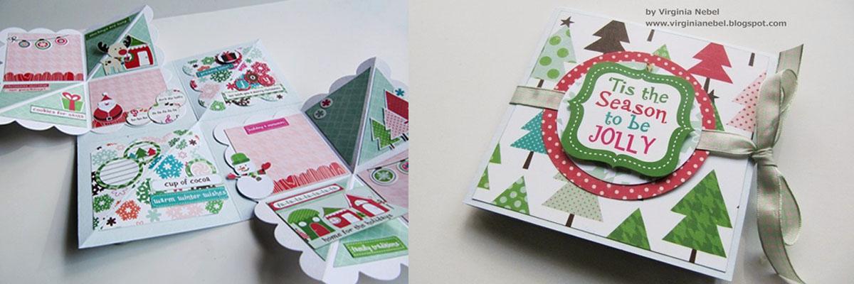 Tarjeta squash manualidades para regalo