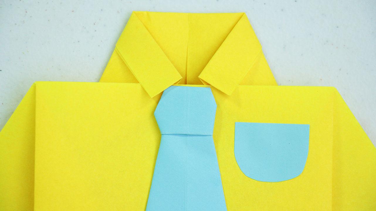 Camisa De Papel Idea Para El Día Del Padre Craftingeek