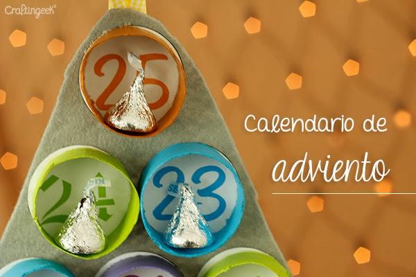 calendario de navidad o adviento