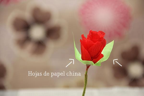 Flores De Papel Crepe Un Lindo Regalo Muy Romantico