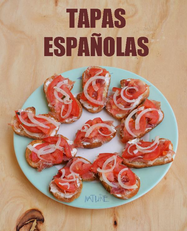 Receta de deliciosas tapas espa olas for Tapas sencillas y rapidas