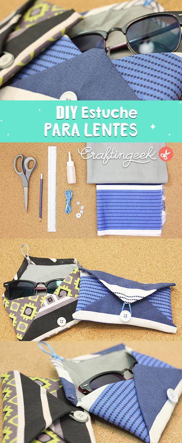 Cómo hacer un estuche para lentes fácil - DIY Sunglass pouch