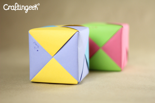 wow cubes, such nice, many fun, cubos, cubes, sonobe, handcraft, gift, letter, cartita, regalo