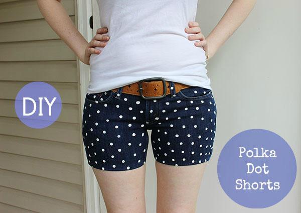 shorts puntitos