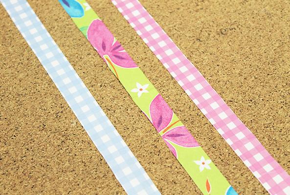como hacer tu propia washi tape