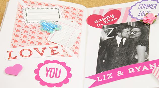 Tips para decorar un album de scrapbook for Decoracion de album de fotos
