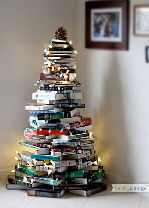 arbolito de libros