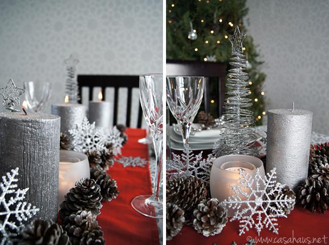 2 ideas para decorar la mesa de navidad for Ideas para decorar la mesa de navidad