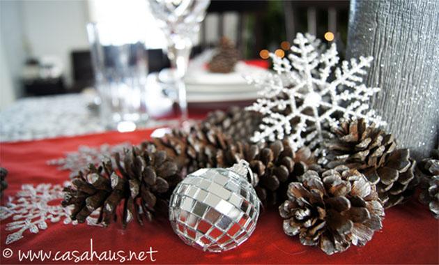 2 ideas para decorar la mesa de navidad - Ideas para decorar la mesa de navidad ...