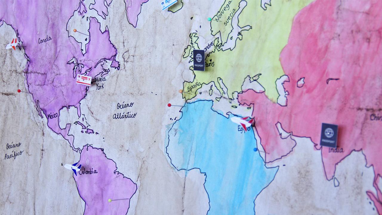 mapa vintage portada