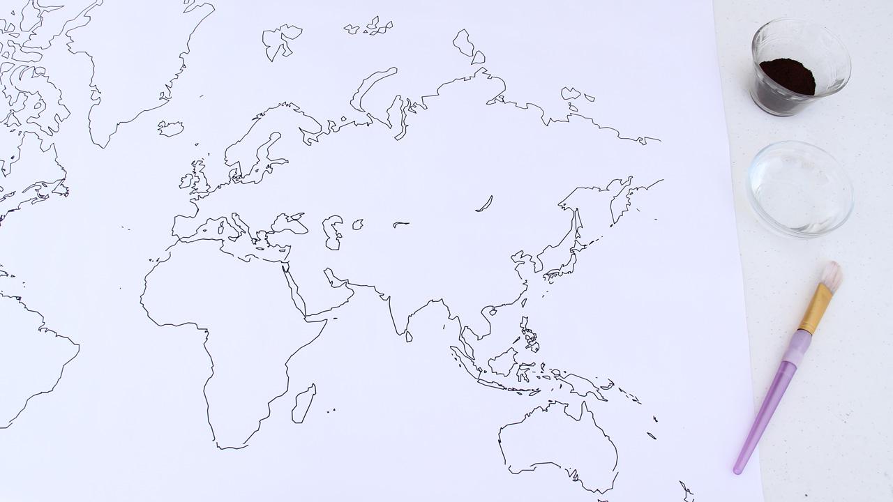mapamundi materiales