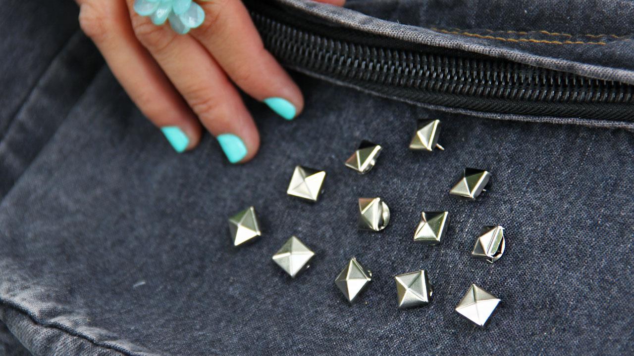 detalle estoperoles decorar tu mochila