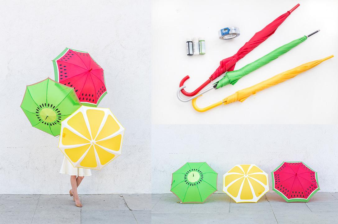 decorar tu paraguas