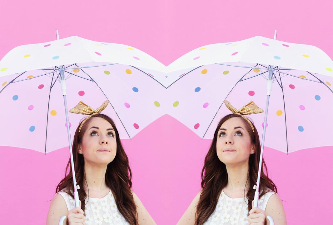 polka-dots-paraguas