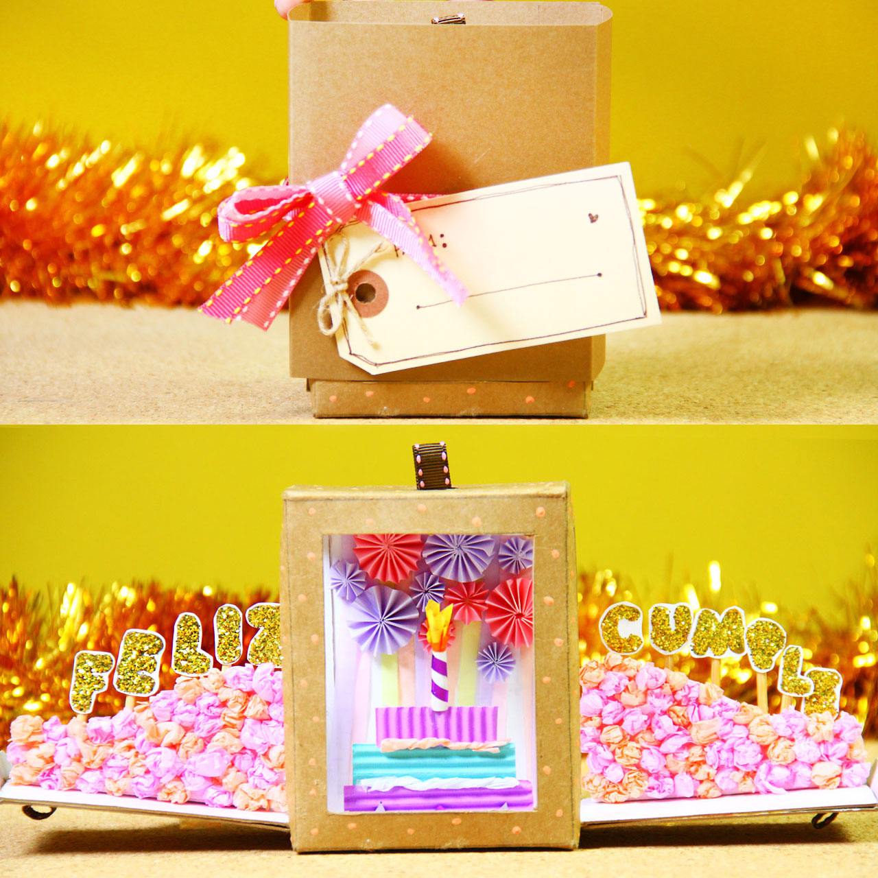caja cumpleañera happy box