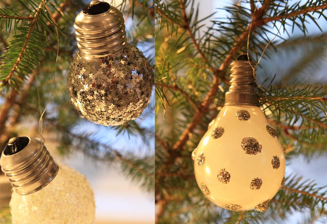 20 adornos navidenos material reciclado craftingeek for Bolas de navidad recicladas