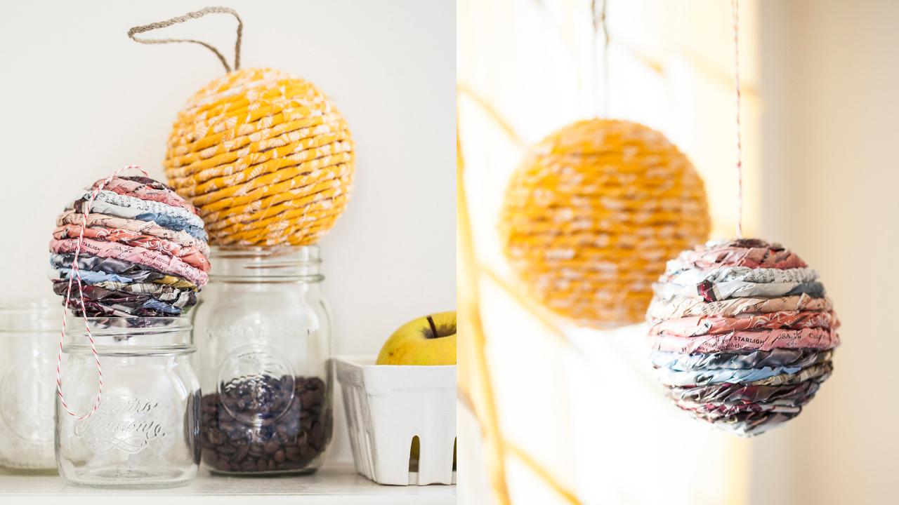 20 adornos navidenos material reciclado craftingeek for Adornos navidenos reciclados faciles
