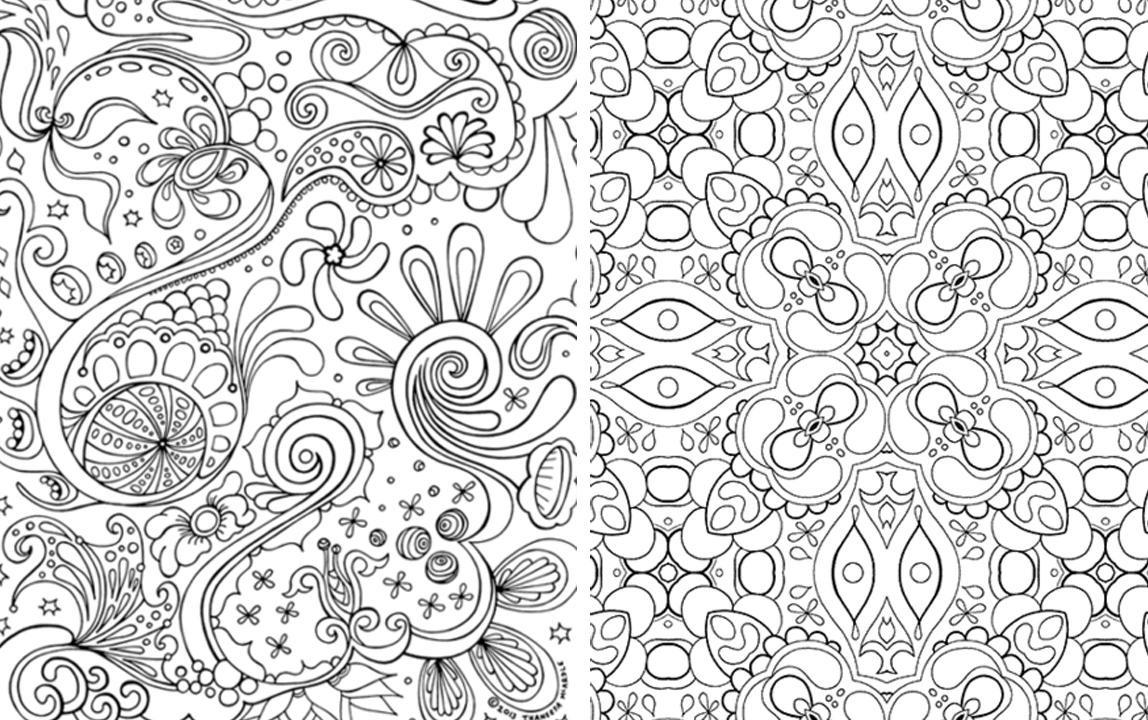 Hojas para colorear que puedes imprimir ~ Craftingeek
