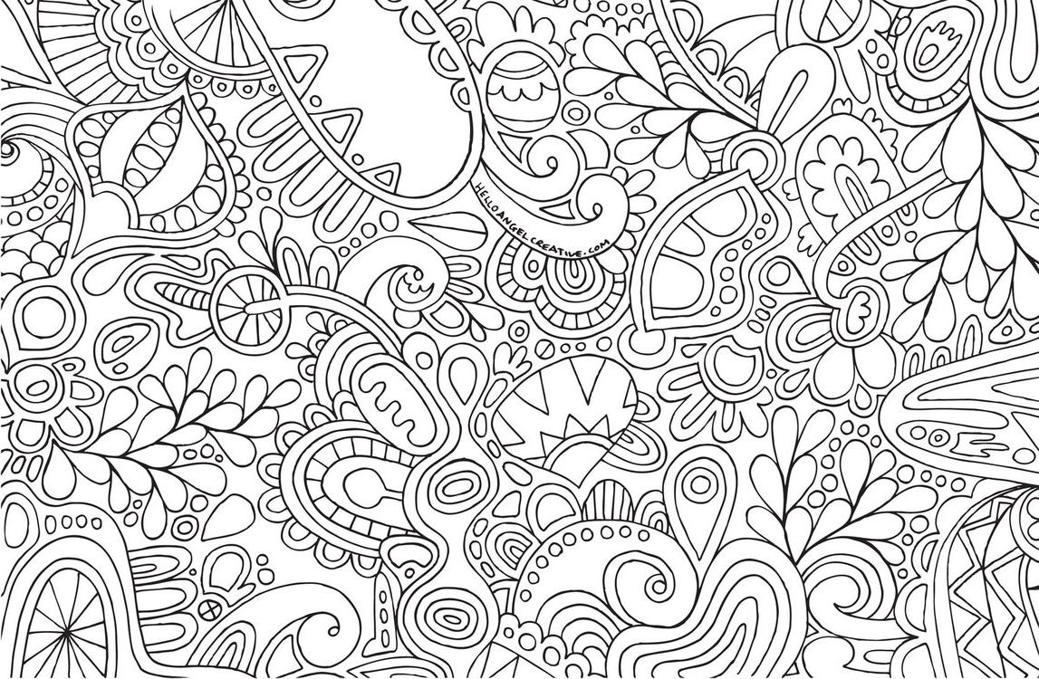 Dibujo De Hojas En Otoño Para Colorear: Hojas Para Colorear Que Puedes Imprimir