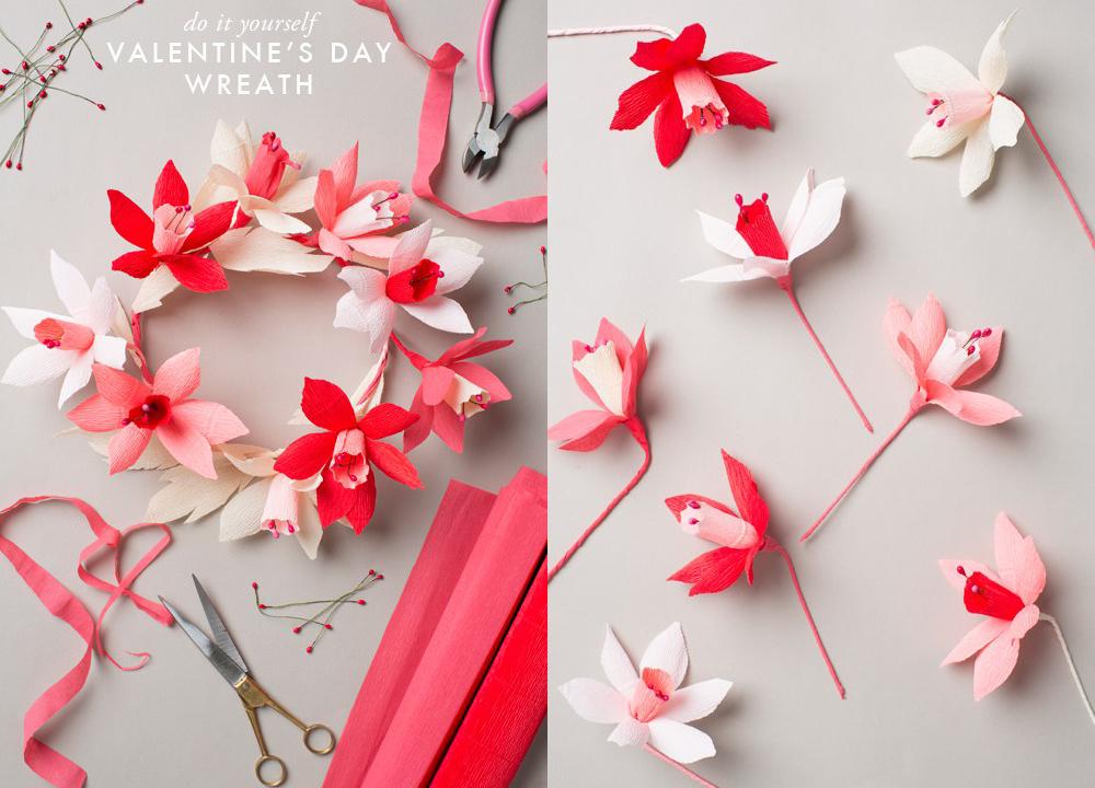 Flores de papel para tu enamorada craftingeek - Papeles de vinilo para pared ...