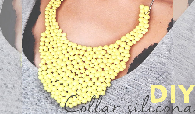 diy collar de silicon