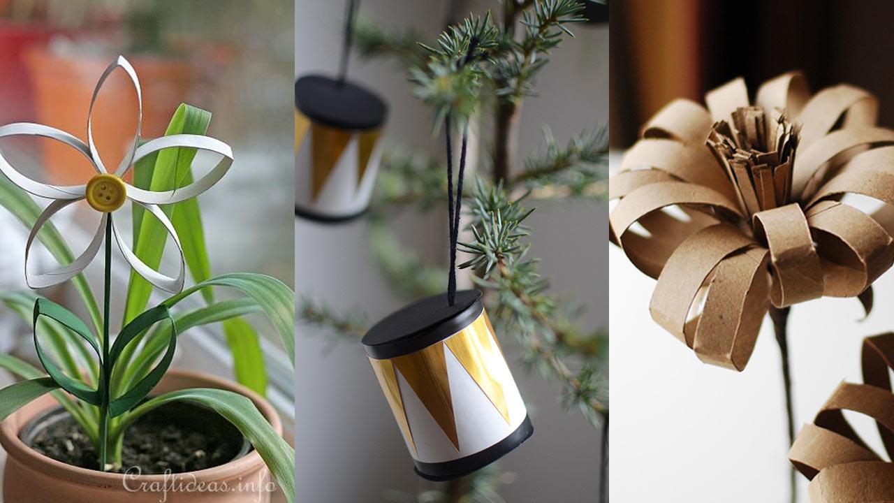 Ideas Geniales Para Usar Los Rollos De Papel Craftingeek