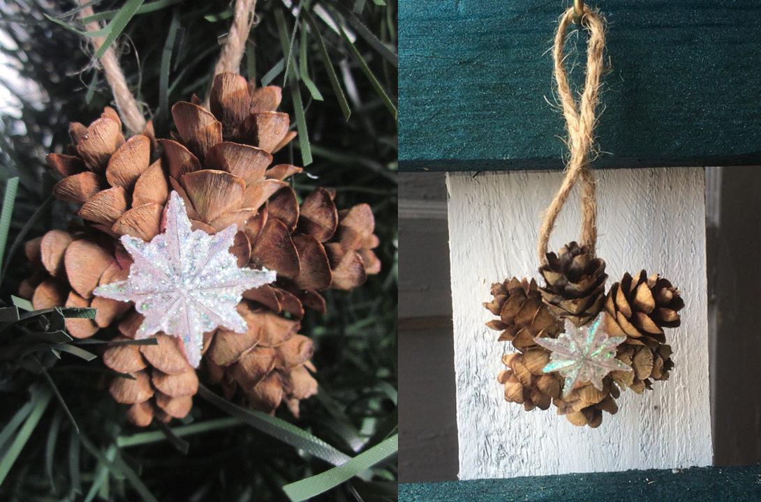perfect interesting with adornos con pias para navidad with adornos navidad con pias with adornos navidad con pias - Adornos De Navidad Con Pias