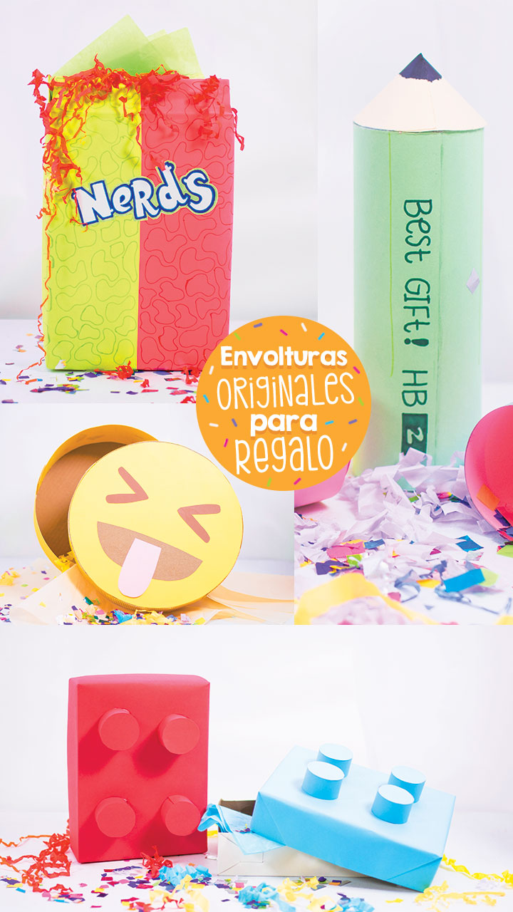 Ideas super originales para envolver regalos craftingeek for Envolver regalos originales