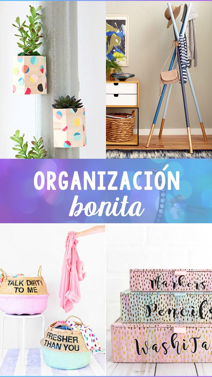 Ideas perfectas y bonitas para organizar tu habitación ~ Craftingeek