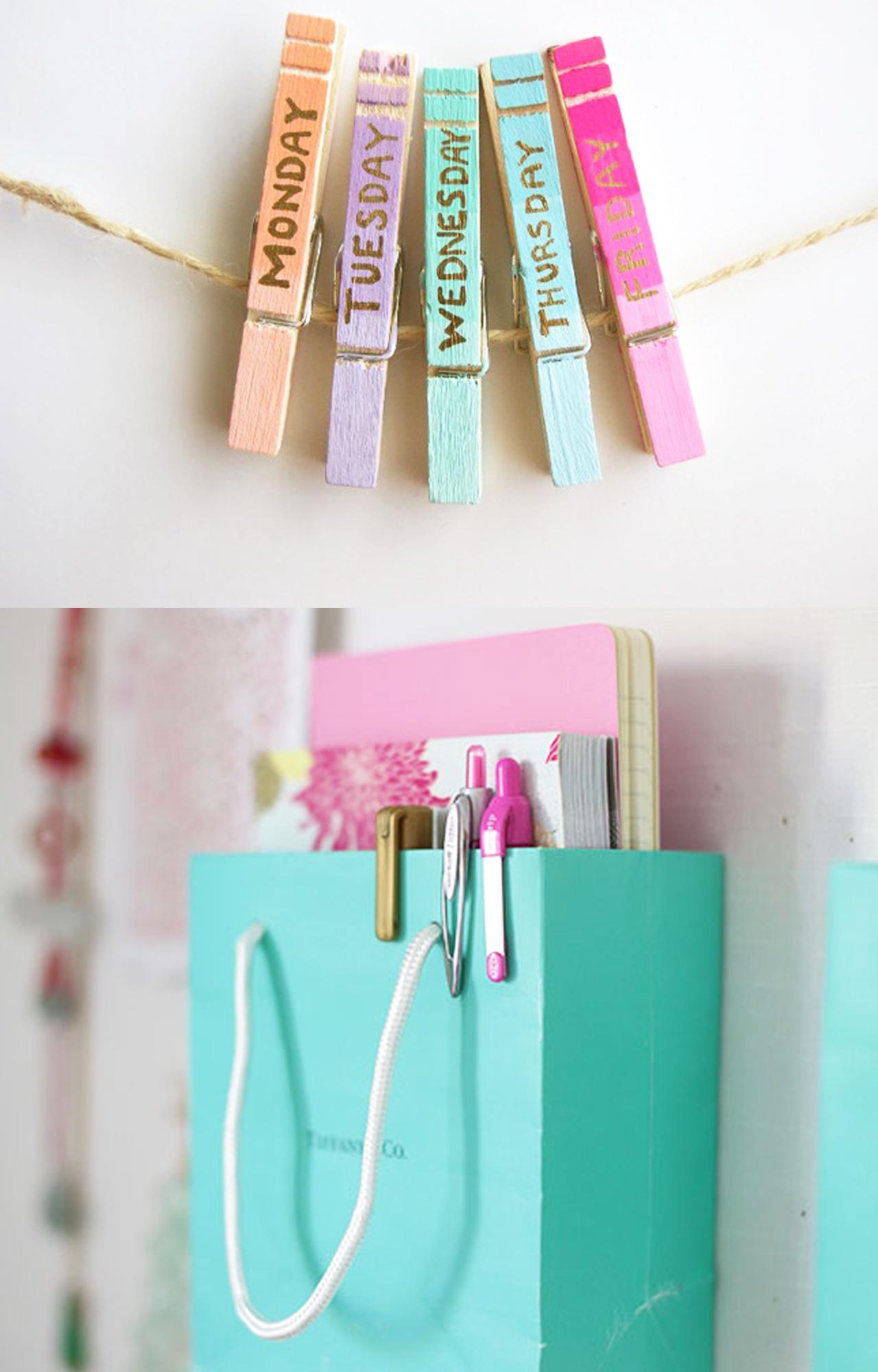 10 hermosas y f ciles ideas para organizar tu escritorio craftingeek - Ideas para poner fotos ...