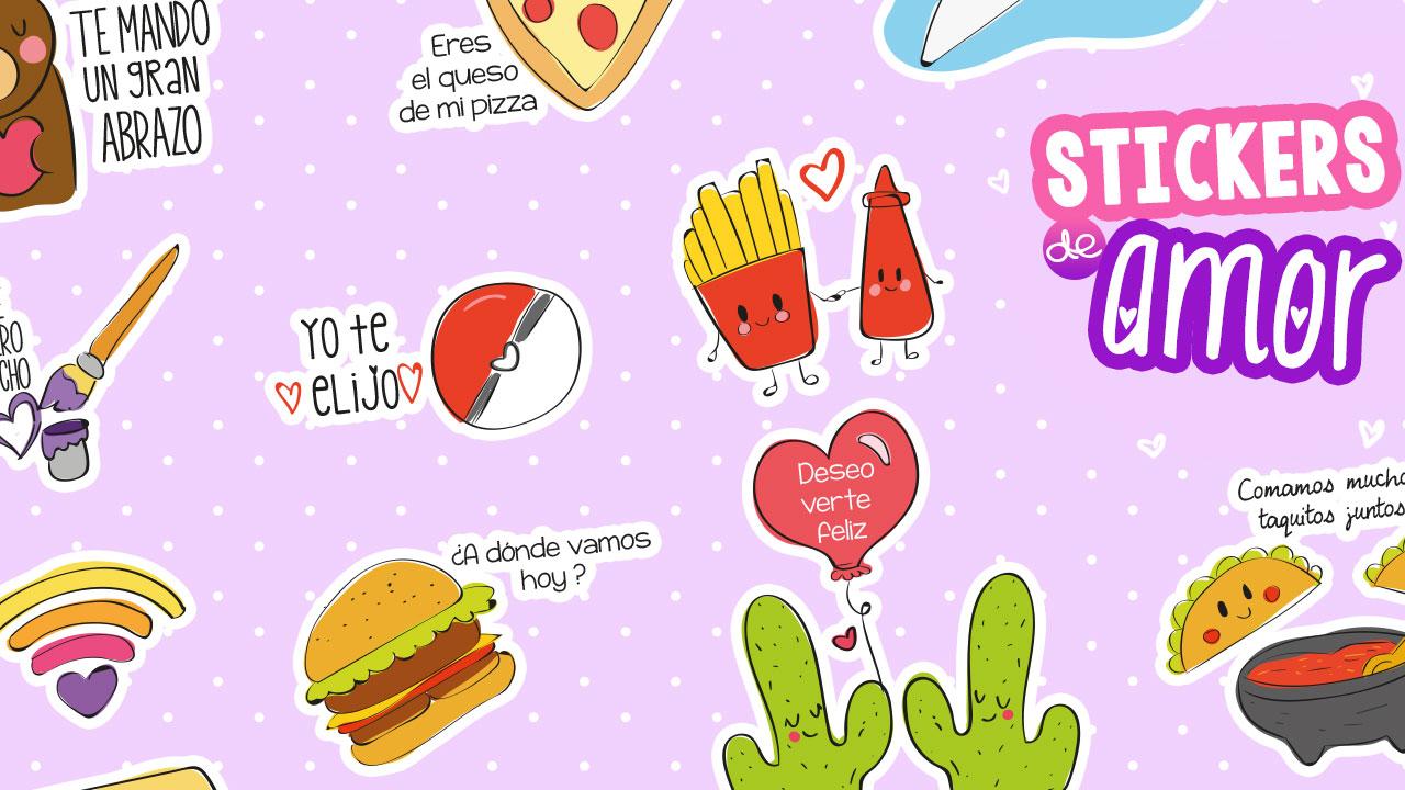 Stickers para decorar el regalo perfecto en San Valentín ~ Craftingeek