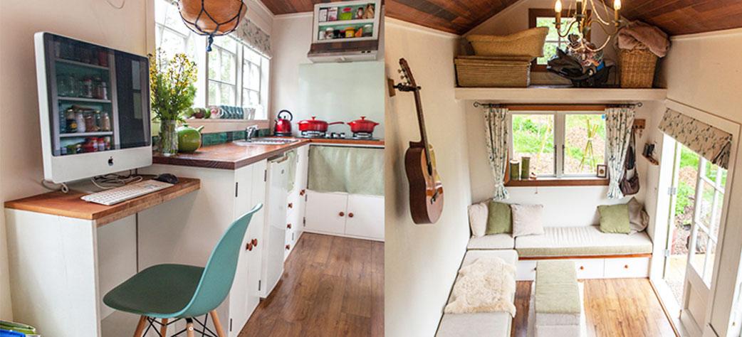10 casas peque as en las que todos quisi ramos vivir for Muebles practicos para casas pequenas