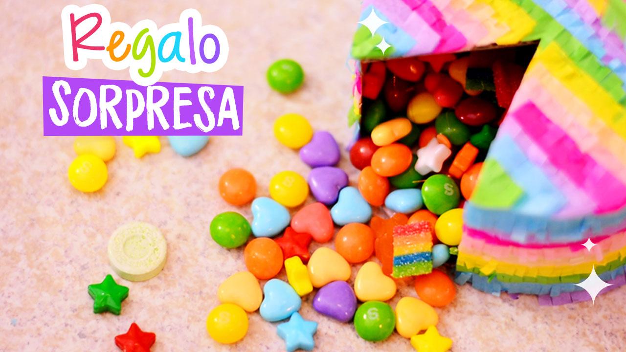 pastel sorpresa caja regalo-destac