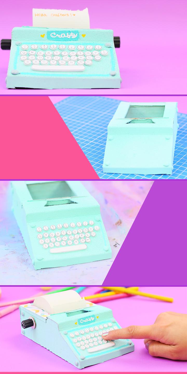 Haz una mini máquina de escribir para tus notas: Organiza tu ...