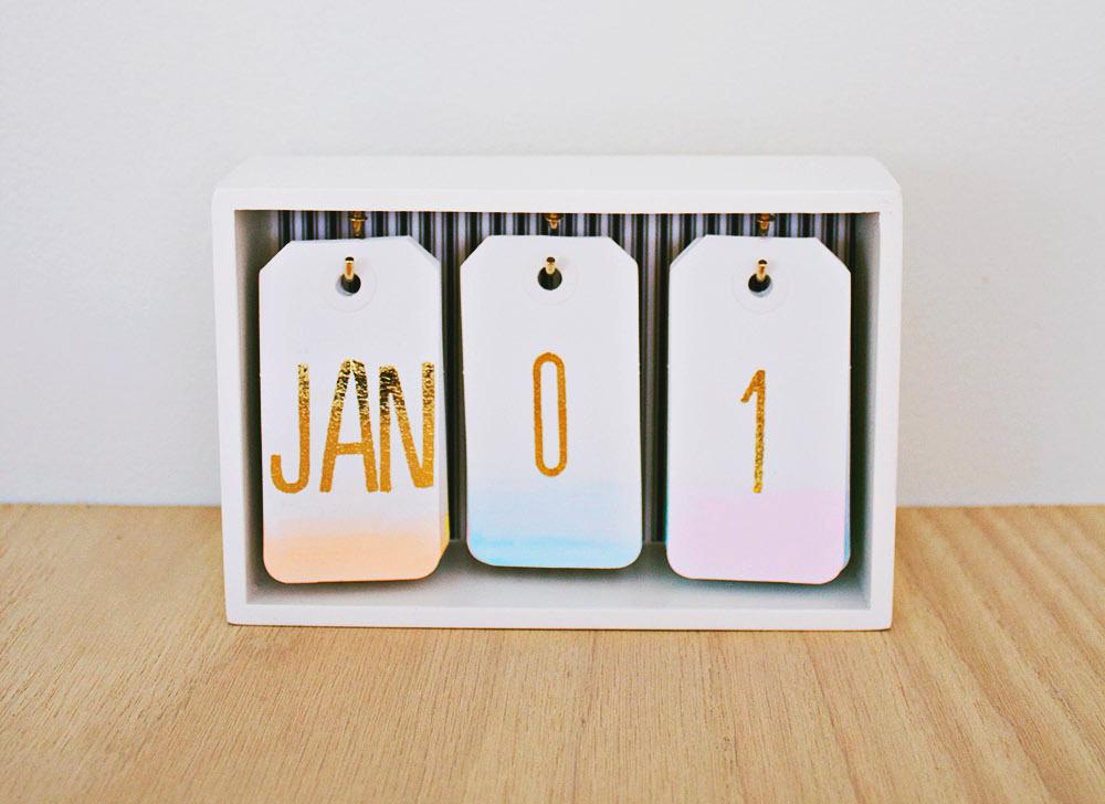 10 calendarios creativos y originales para tener en tu - Como hacer tu propio calendario ...