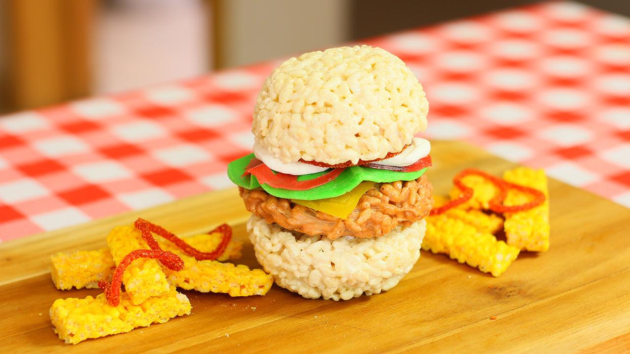 Hamburguesa dulce de color: Paso a paso | Sweet Hamburgers: Easy dessert