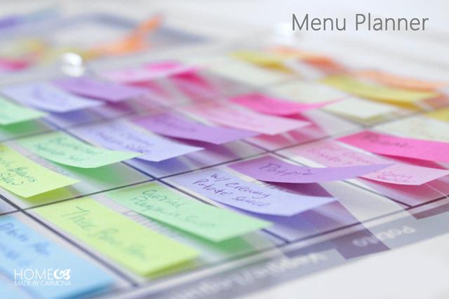 notas adhesivas cómo organizar tu agenda
