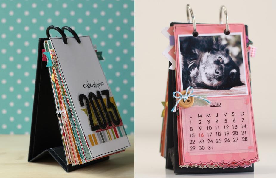 10 calendarios creativos y originales para tener en tu - Ideas originales con fotos ...