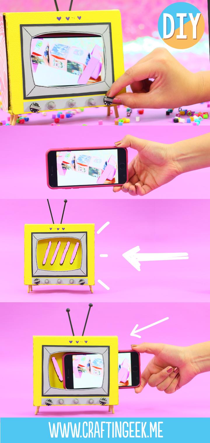 Mini-TV porta celular_PORT