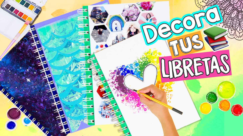 Ideas De Portadas Para Cuadernos Decorar Libretas Con
