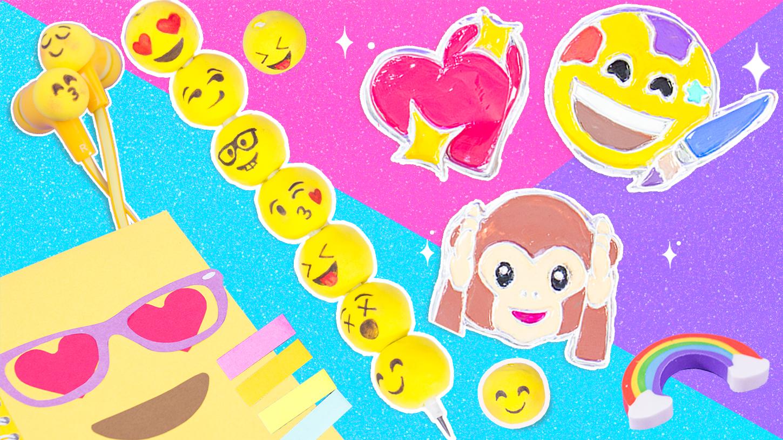 ideas con emojis diy