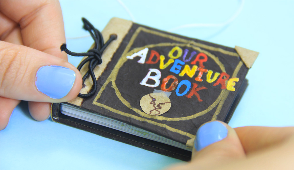 album tutorial libro de aventuras