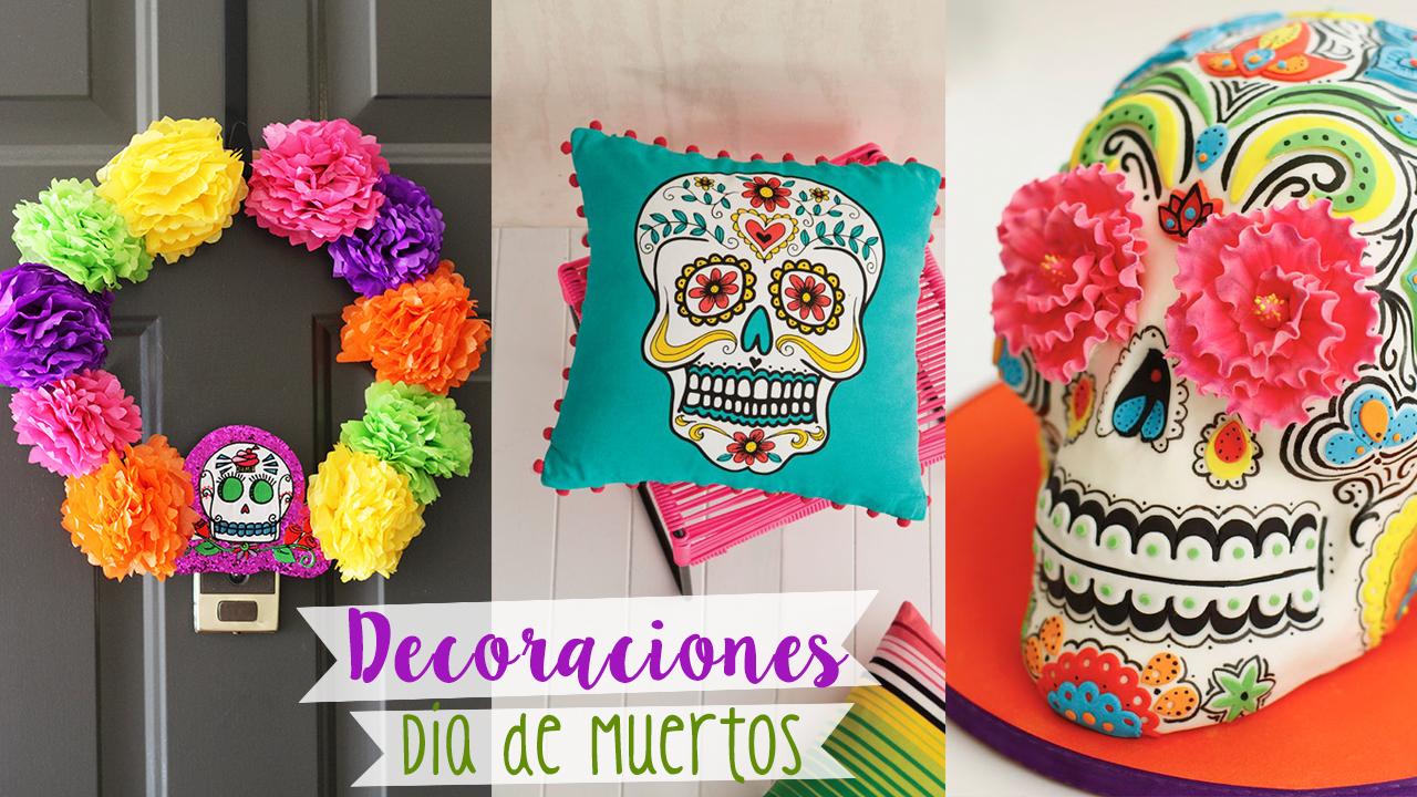 Ideas para decorar el d a de muertos craftingeek for Decoracion de puertas de dia de muertos