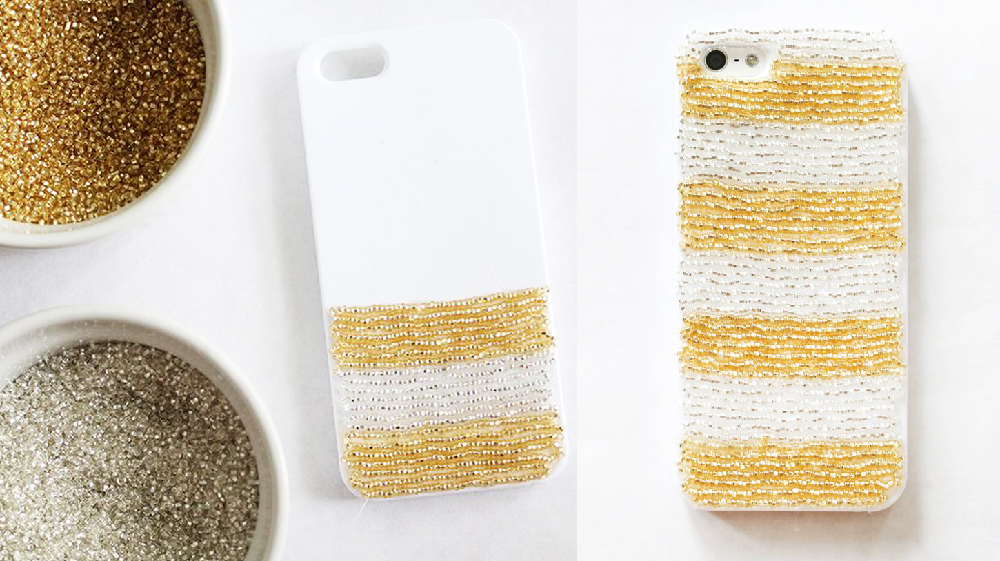 Ideas diy decoraci n fundas para celular craftingeek - Como decorar una funda de movil ...